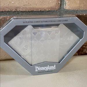 Disneyland 60th Diamond Celebration Playing Cards
